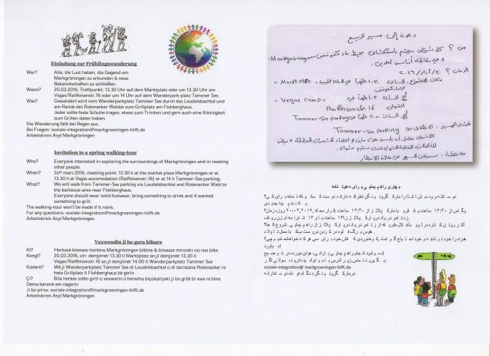 Einladung zur Frühlingswanderung am 20.03.16 im Leudelsbachtal!