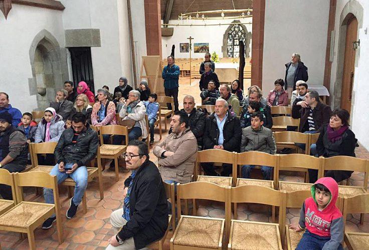 Interreligiöse Führung durch die Heilig Geist Kirche