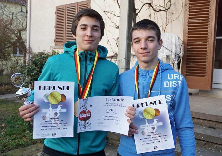 Judo-Brüder aus Markgröningen holen Gold, Silber und Bronze